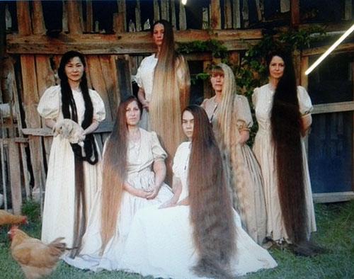 Imagen de nuestro cabello natural por gramos