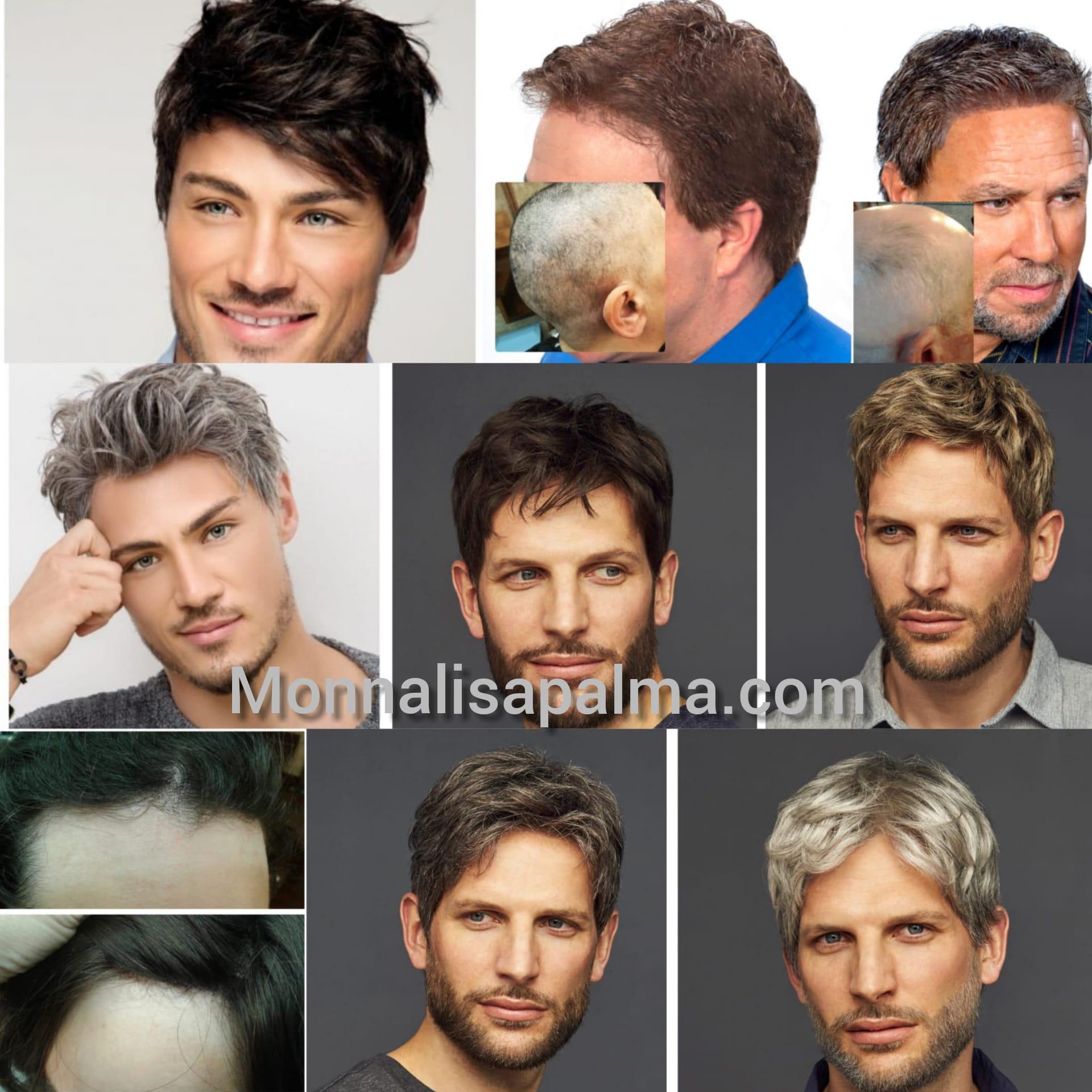 pelucas indetectables hombre
