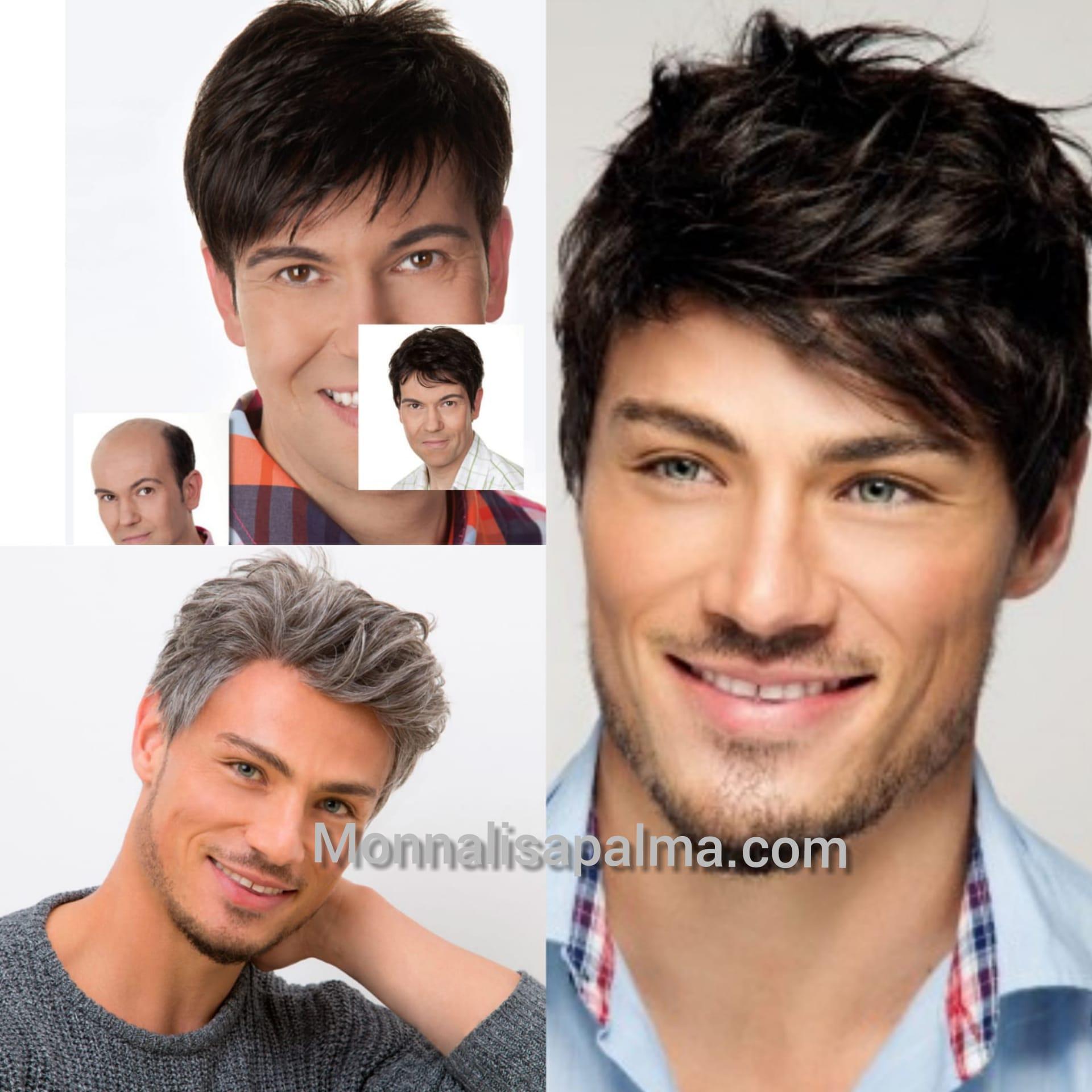 pelucas hombre