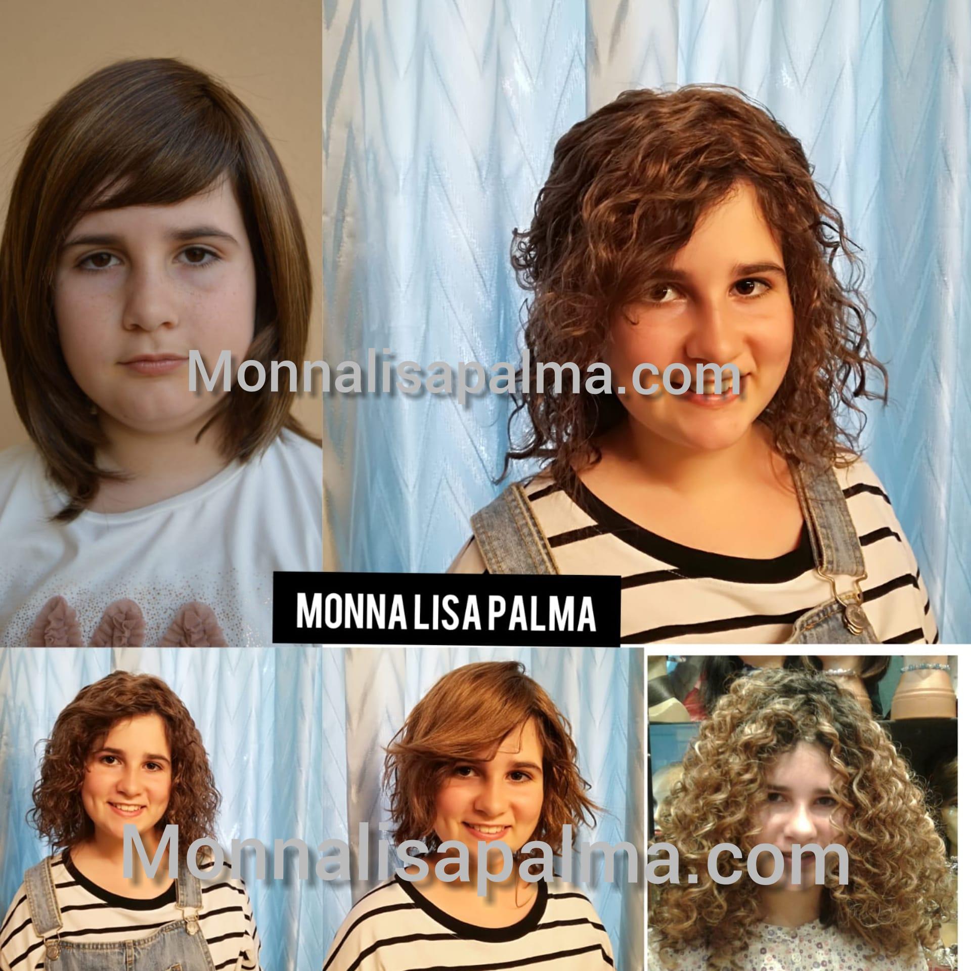 pelucas adolescentes e infantiles